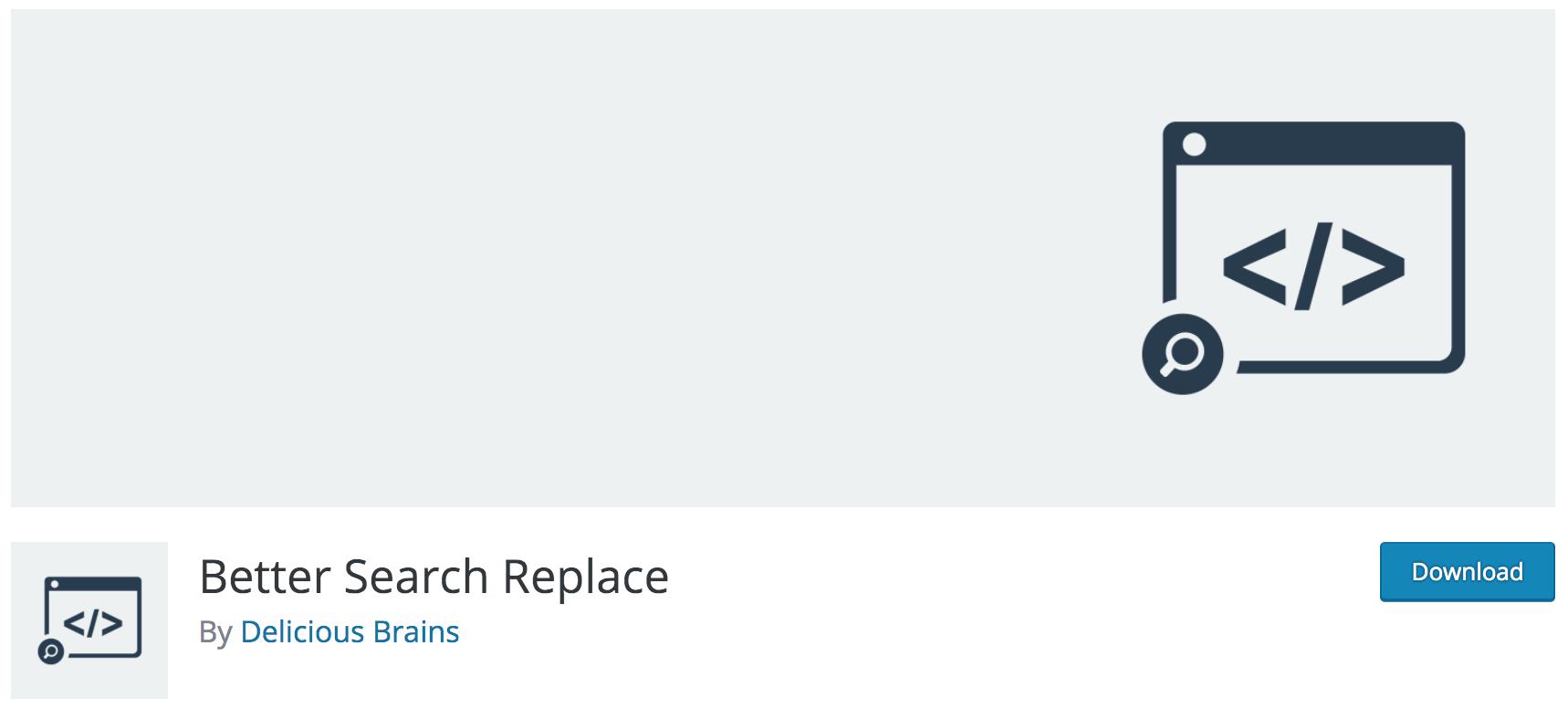 Avis sur Better Search Replace plugin gratuit indispensable pour changer le nom de domaine de votre site WordPress, le passer en HTTPS ou tout simplement intervenir sur votre base de données