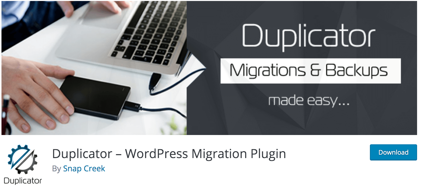 Notre avis sur Duplicator meilleur plugin gratuit pour migrer votre site WordPress chez un autre hébergeur