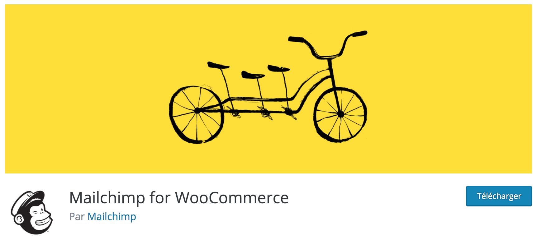 Notre avis sur MailChimp for WooCommerce meilleur plugin gratuit pour capturer vos leads et envoyer des newsletters à vos clients WooCommerce