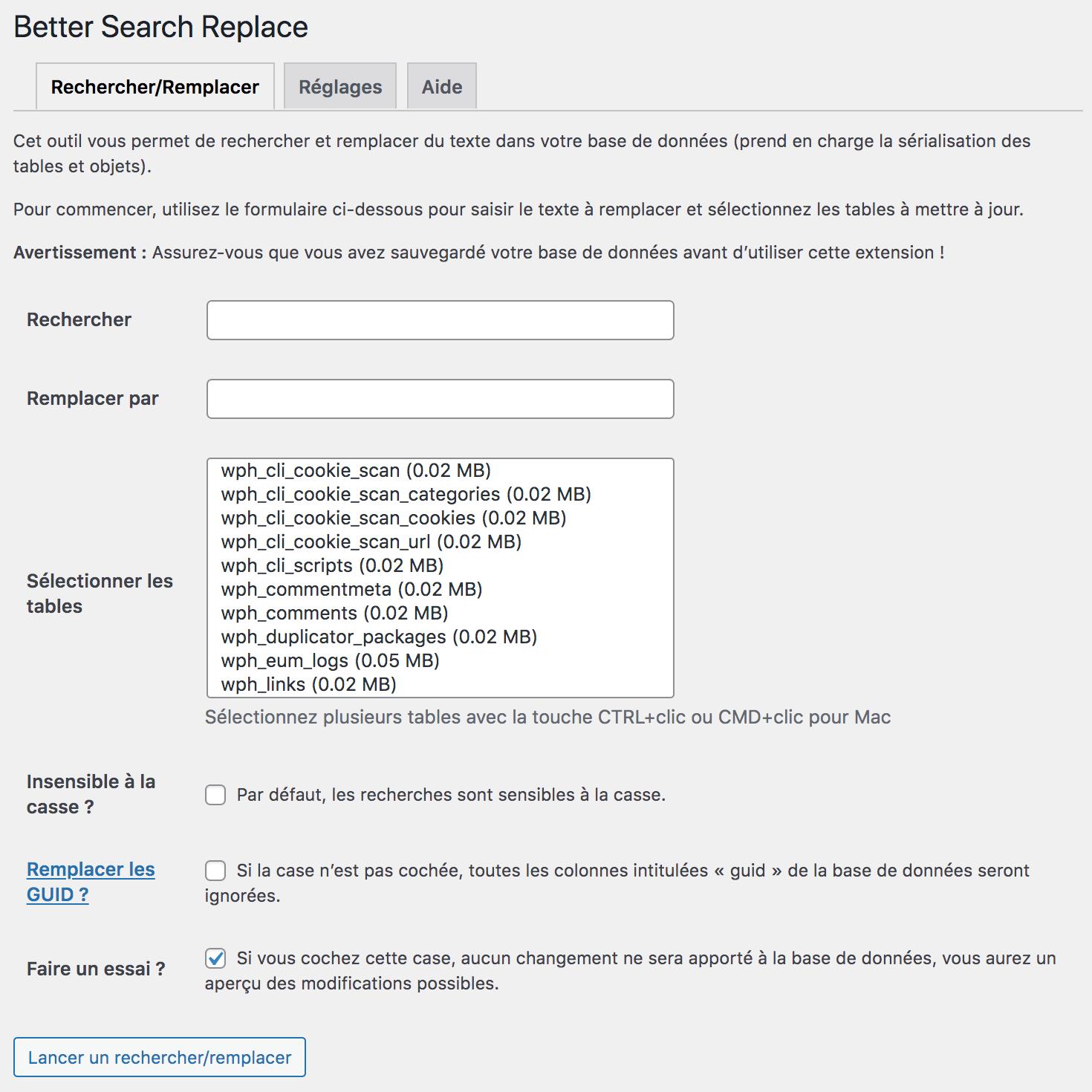 Comment changer le nom de domaine de son site WordPress ? Grâce au meilleur plugin gratuit : Better Search Replace