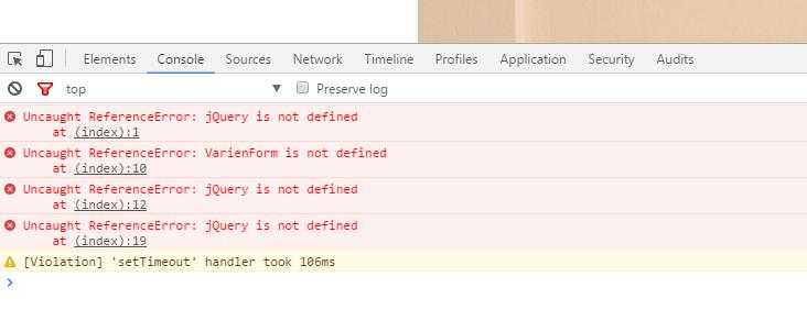 """Comment résoudre l'erreur """"jQuery is not defined"""" ?"""