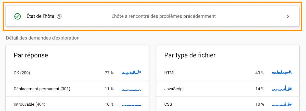 Problème à cause de votre hébergeur web