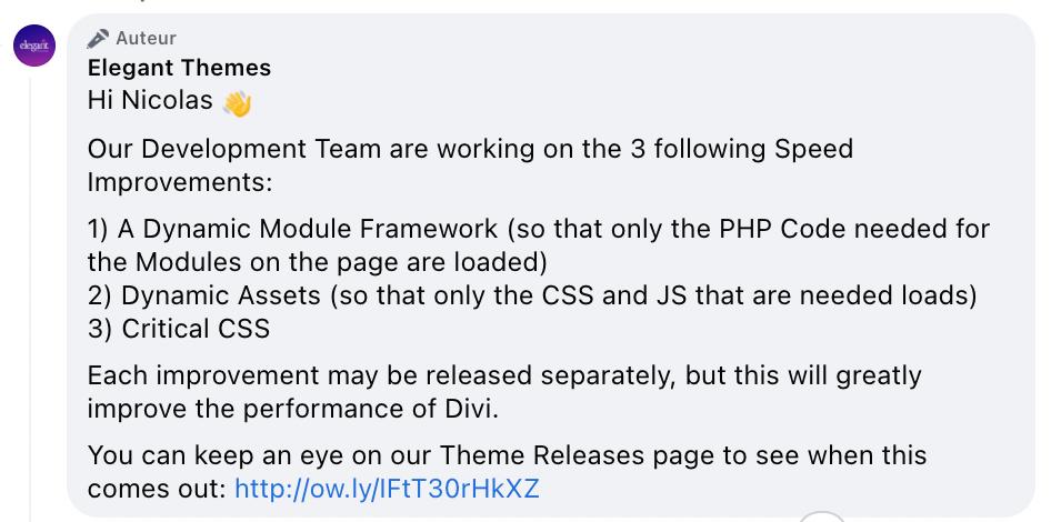 Le thème WordPress Divi est-il rapide ?