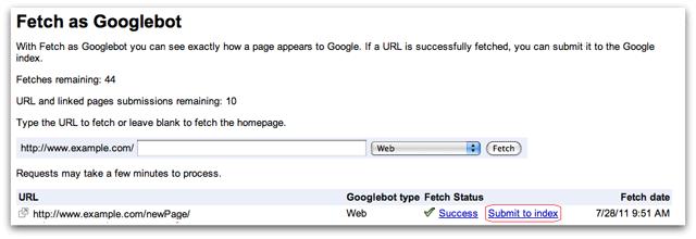 Reindexer votre contenu sur Google et mettre à jour vos pages pour le SEO