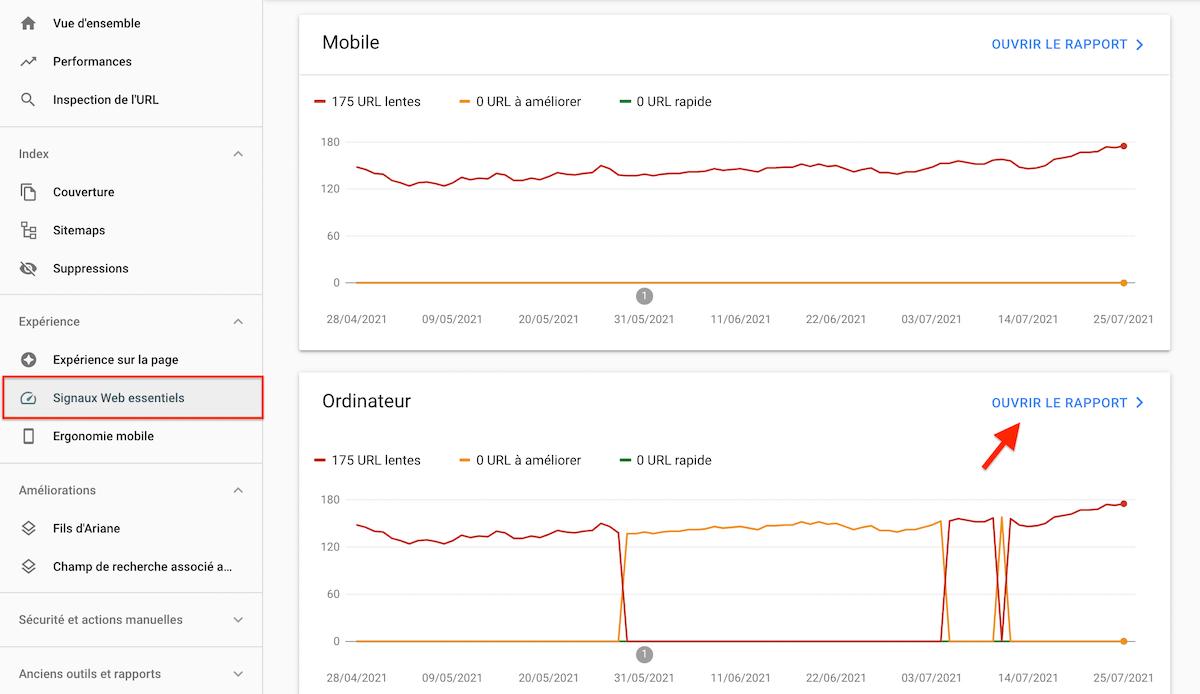 Surveiller la vitesse de chargement de votre site