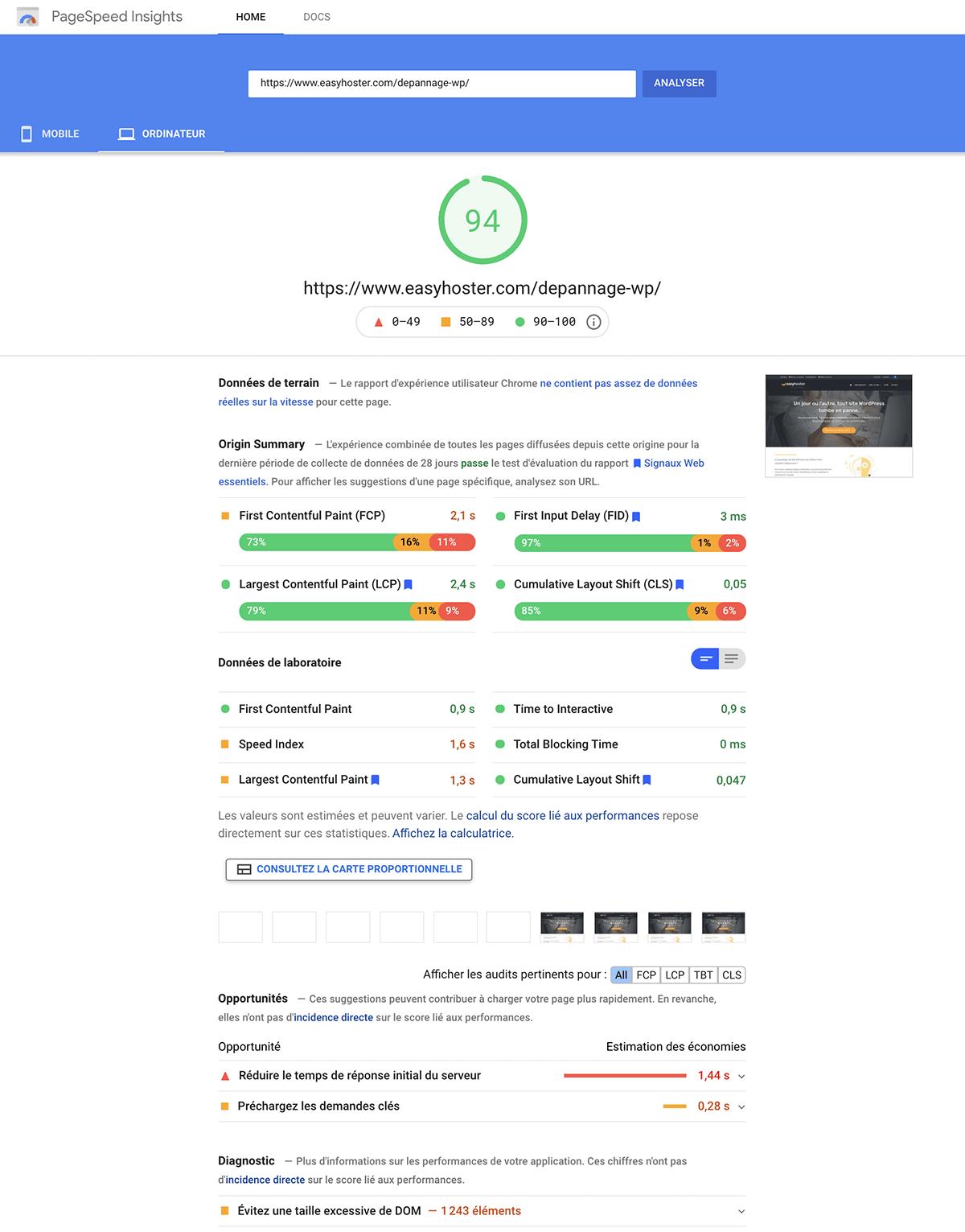 Divi est-il le thème + builder le plus rapide de tous les thèmes WordPress et des Page Builders ?