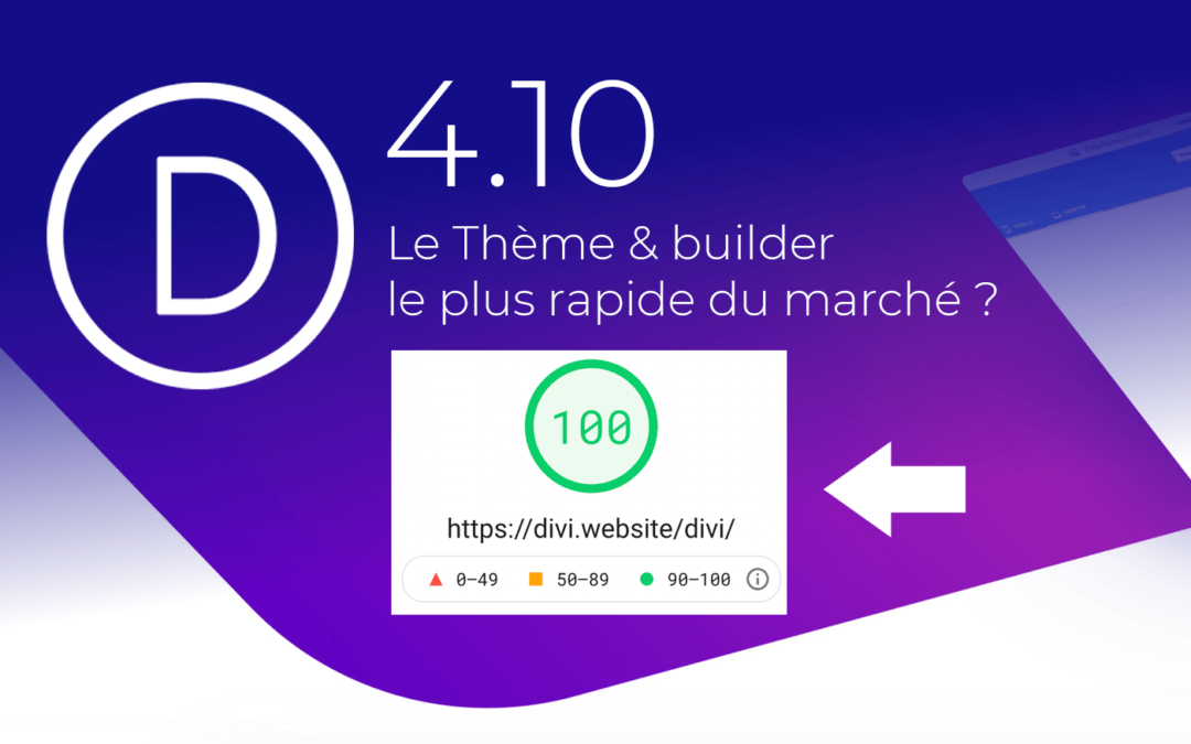 Le Thème & Builder Divi : enfin une version rapide, légère et optimisée… + rapide qu'Elementor !