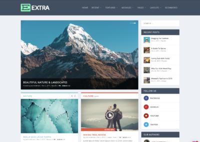 Thème WordPress Extra