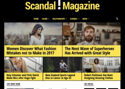 Avis sur le Template Newsmag