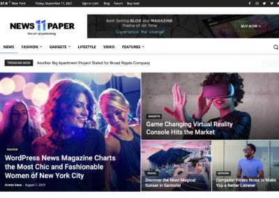 Template WordPress Newspaper