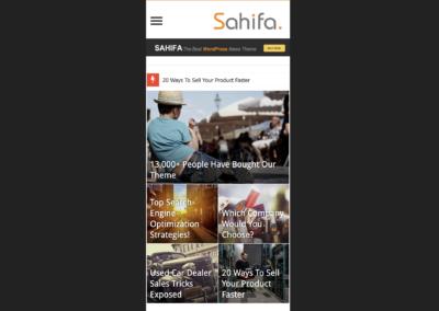 Thème WooCommerce Gratuit Sahifa