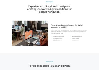 Thème WordPress The7